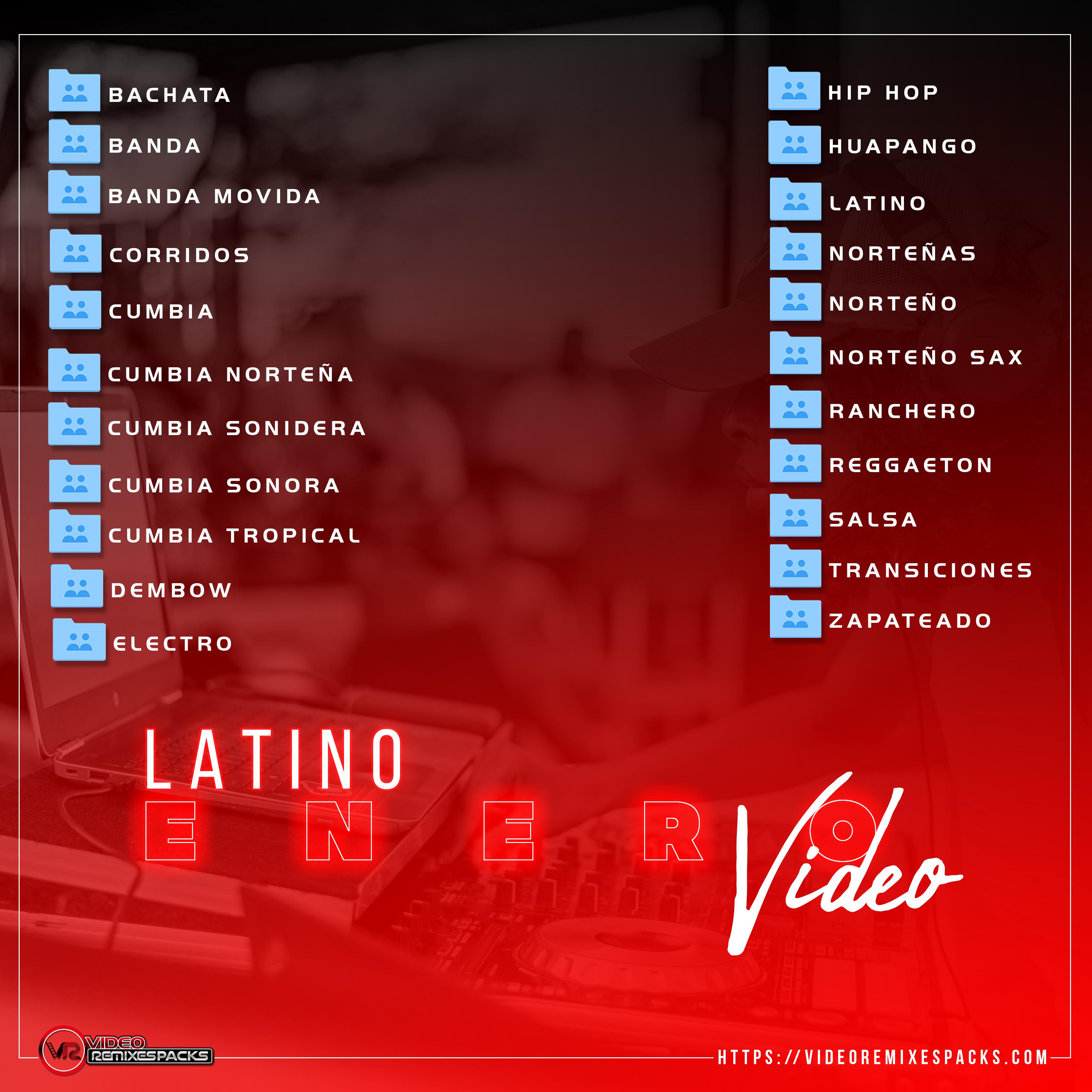 Imagen de Remixes Latinos Enero Video