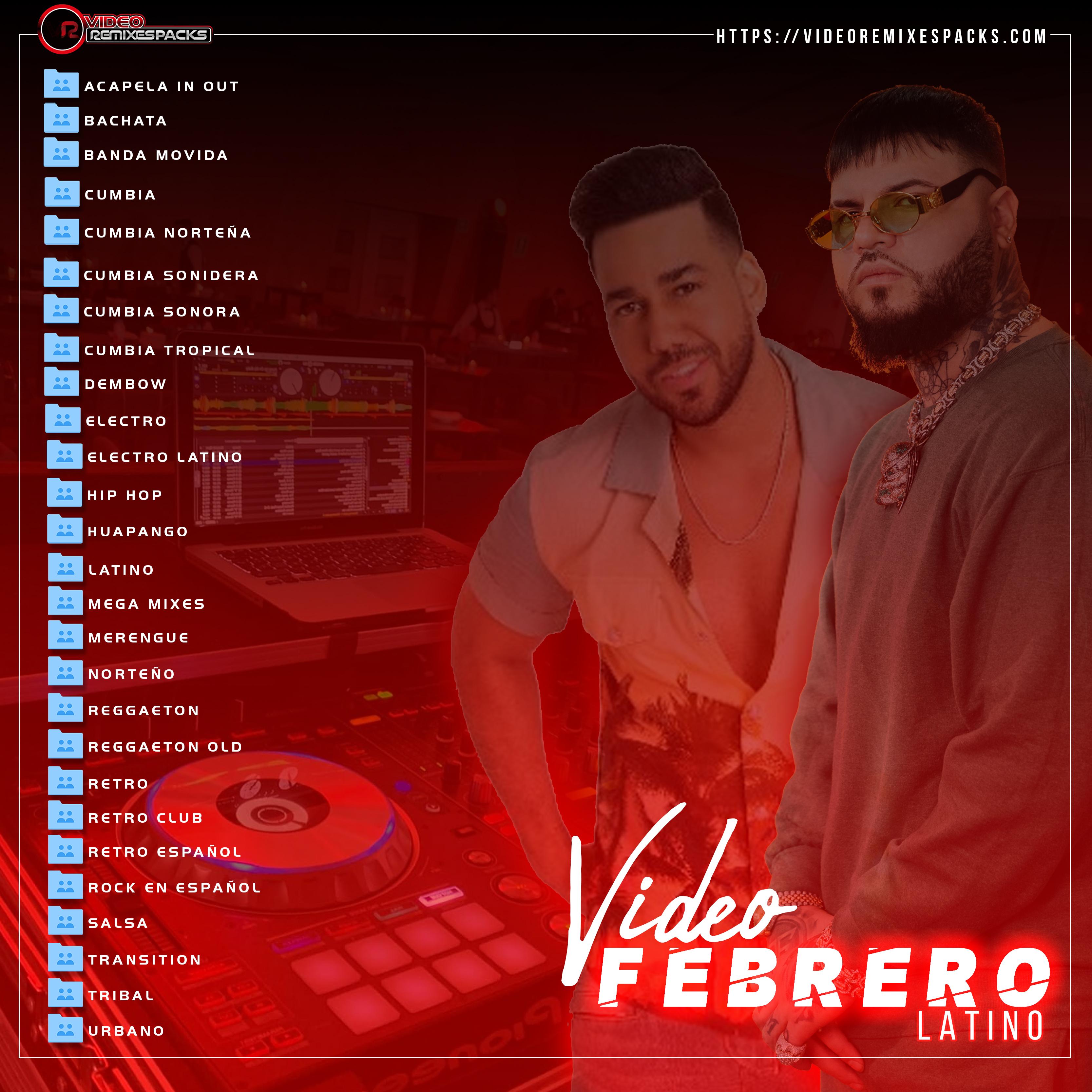 Imagen de Remixes Latinos Febrero Video