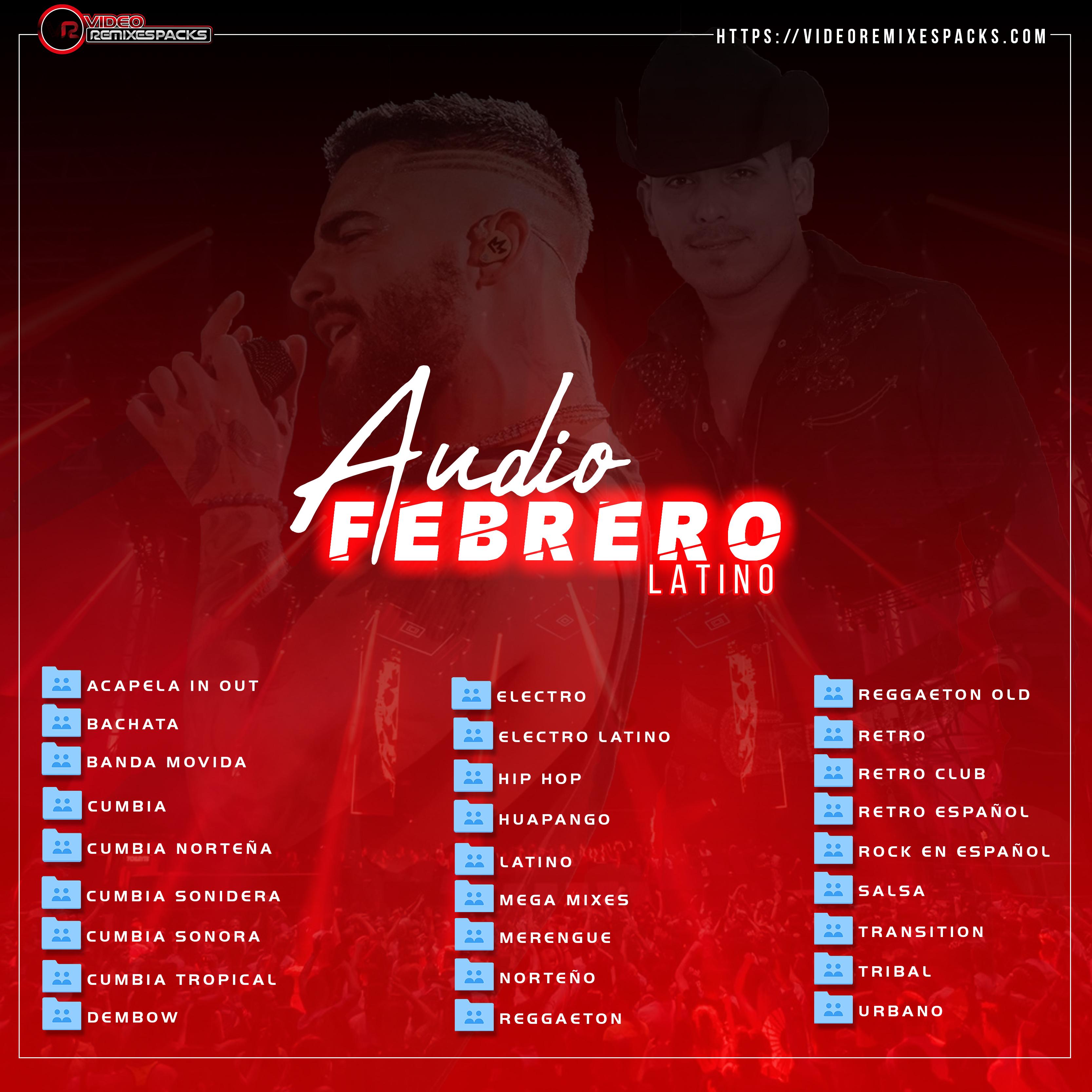 Imagen de Remixes Latinos Febrero Audio