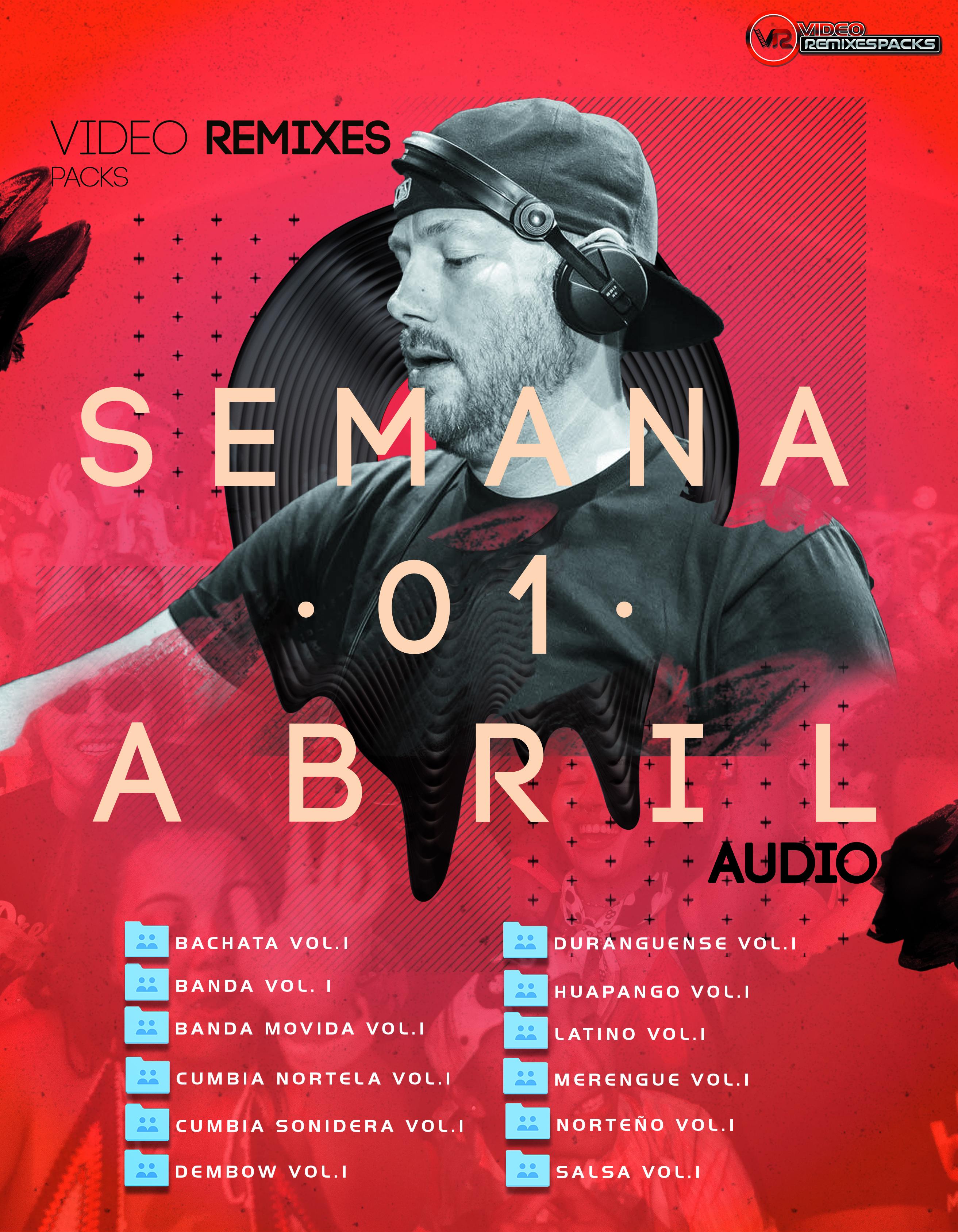 Imagen de Remixes Latinos Abril Audio