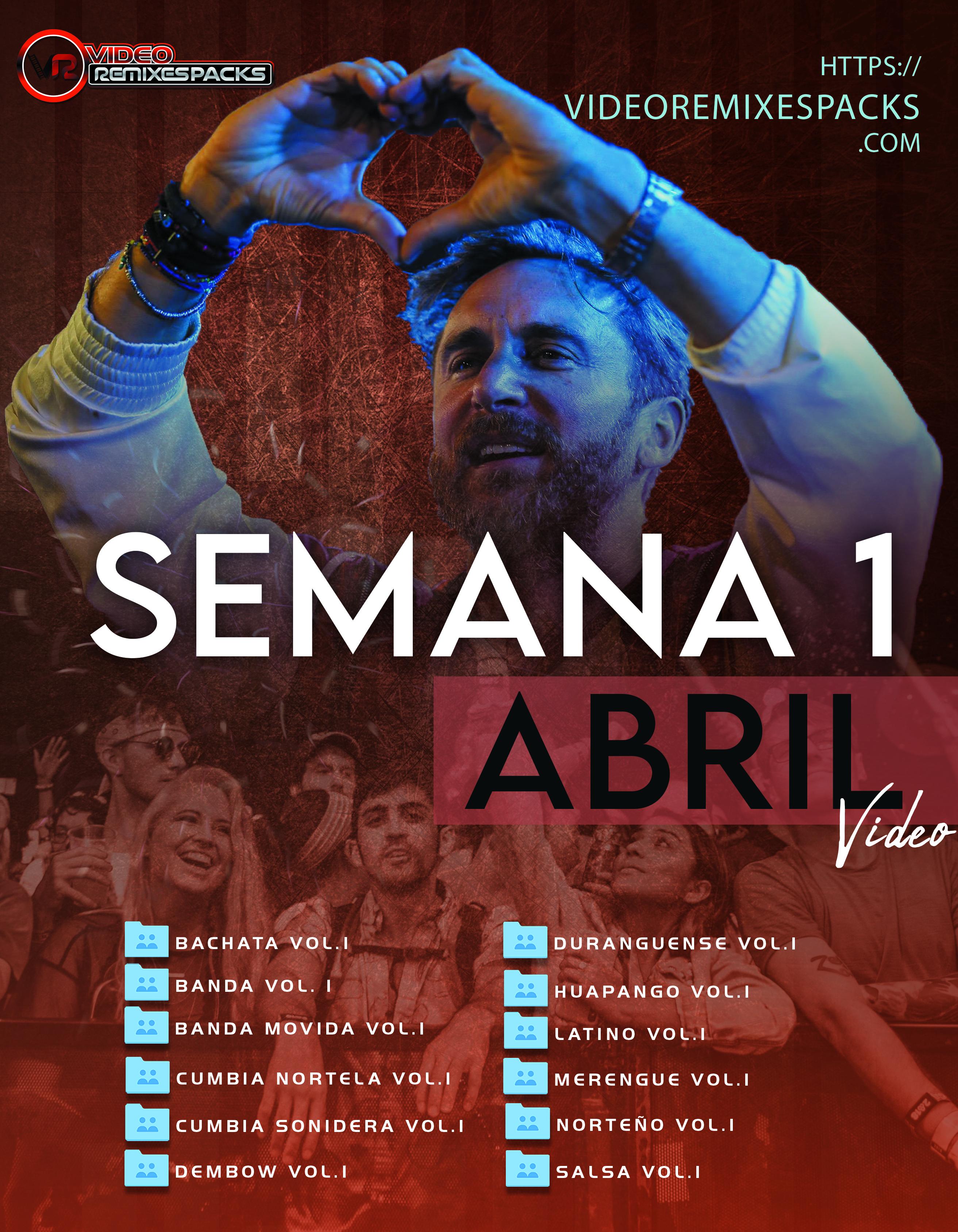 Imagen de Remixes Latinos Abril Video