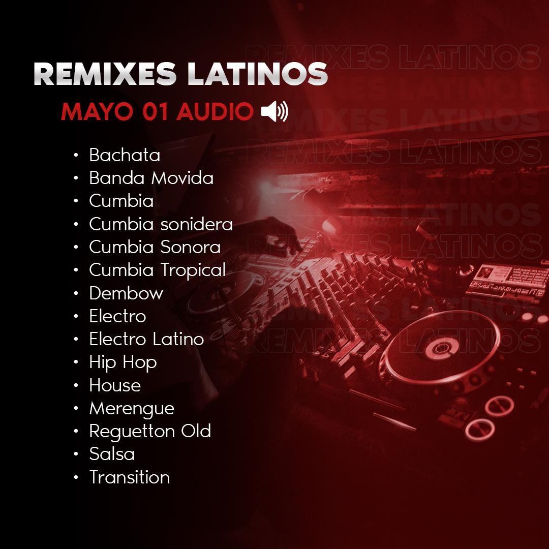 Imagen de Remixes Latinos Mayo 01 Audio