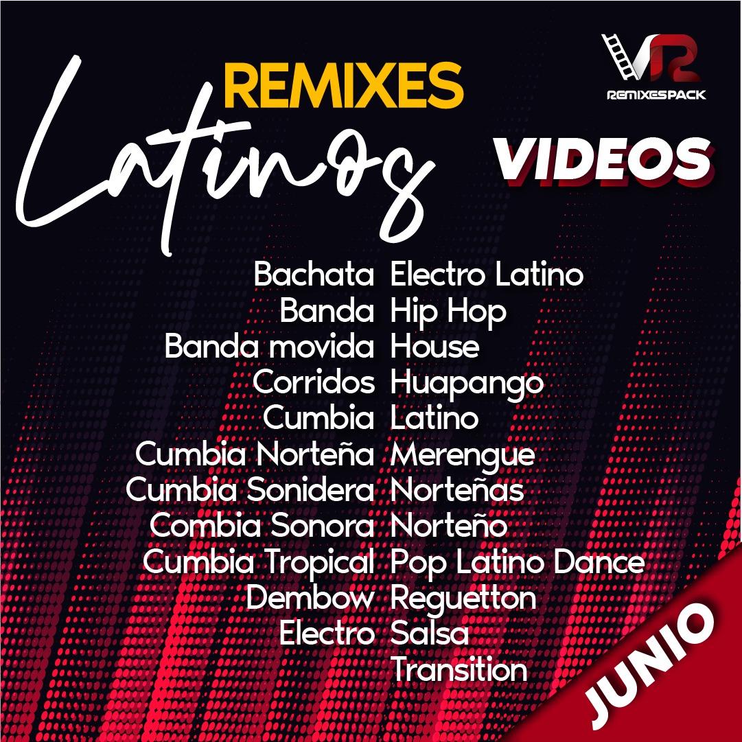 Imagen de Remixes Latinos Junio Video